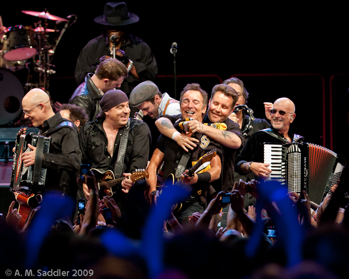 A. M. Saddler Concert Photo of the Day - Bruce Springsteen and The ...